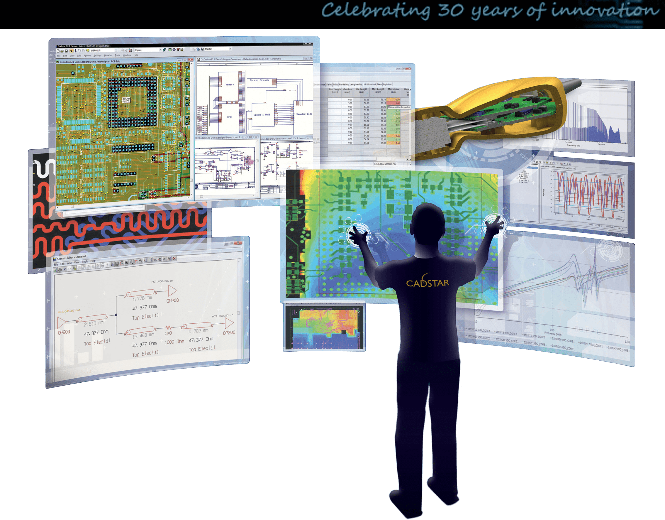 3D Promotion pcb design software cadstar basic board modeler lite