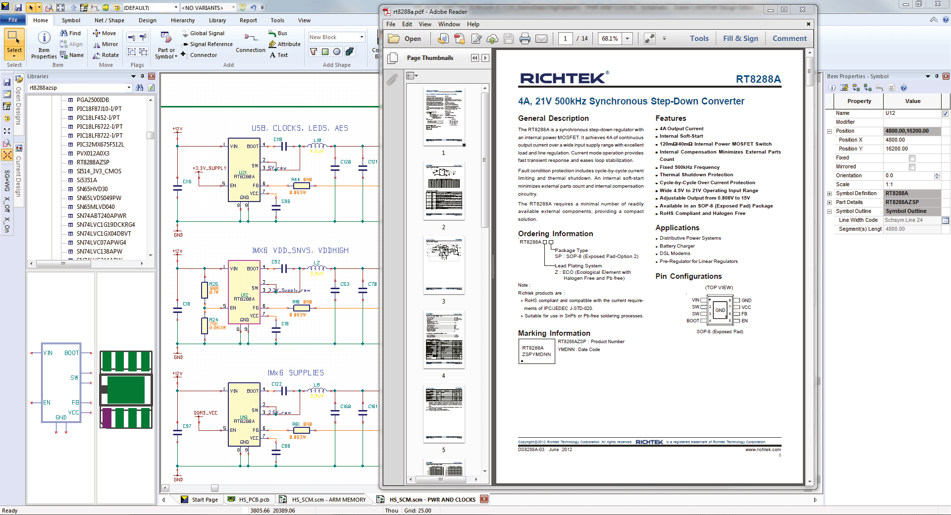 3D Promotion pcb design software cadstar basic hyperlinks to external data sources