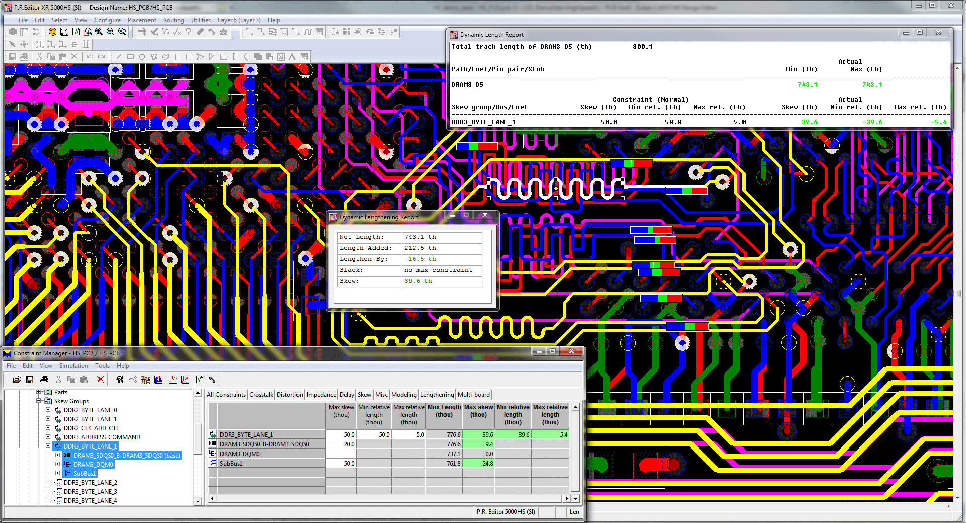 3D Promotion pcb design software cadstar professional high speed routing with constraints