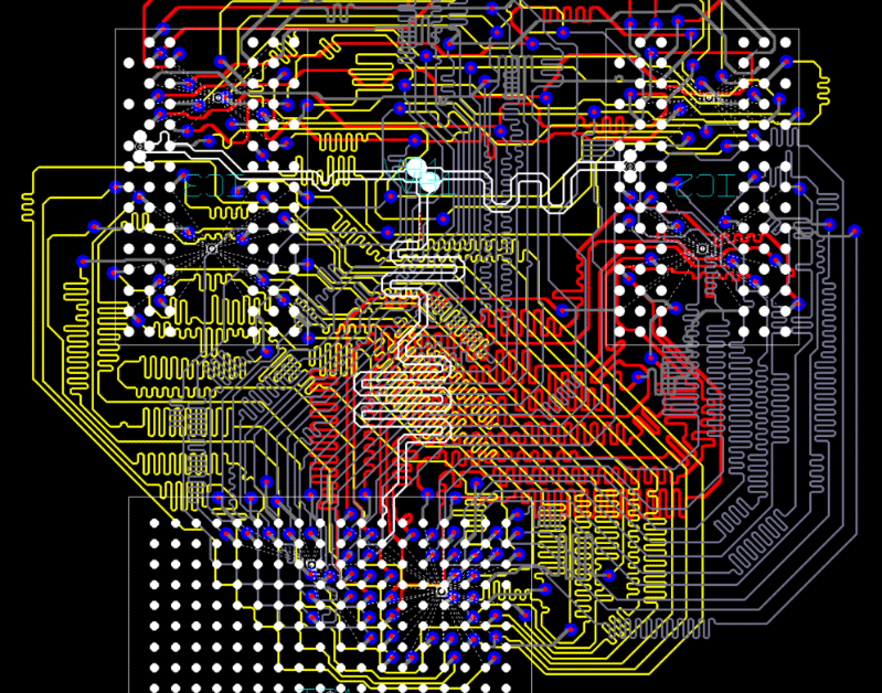 3D Promotion pcb design software cadstar professional place and route editor highspeed DDR routing result
