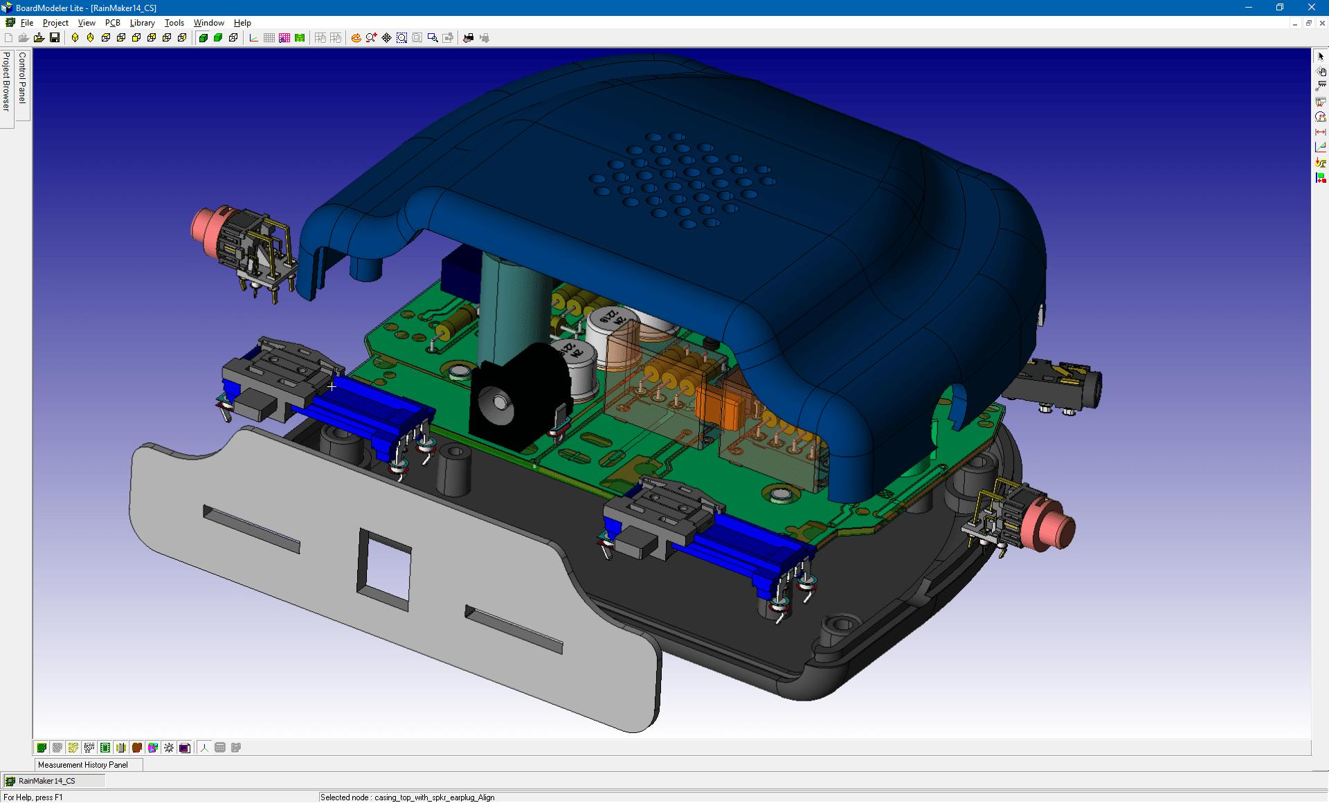 Professional 3d Pcb Design Software Cadstar Zuken Csk Electronic Circuit Tools Promotion Professsional Board Modeler Lite Explosive View