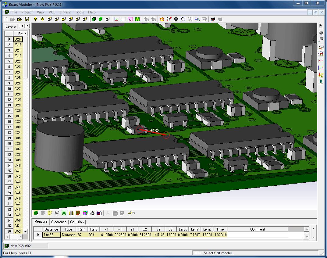 pcb design software cadstar board modeler lite accurate verfication using 3d models for parts and enclosures