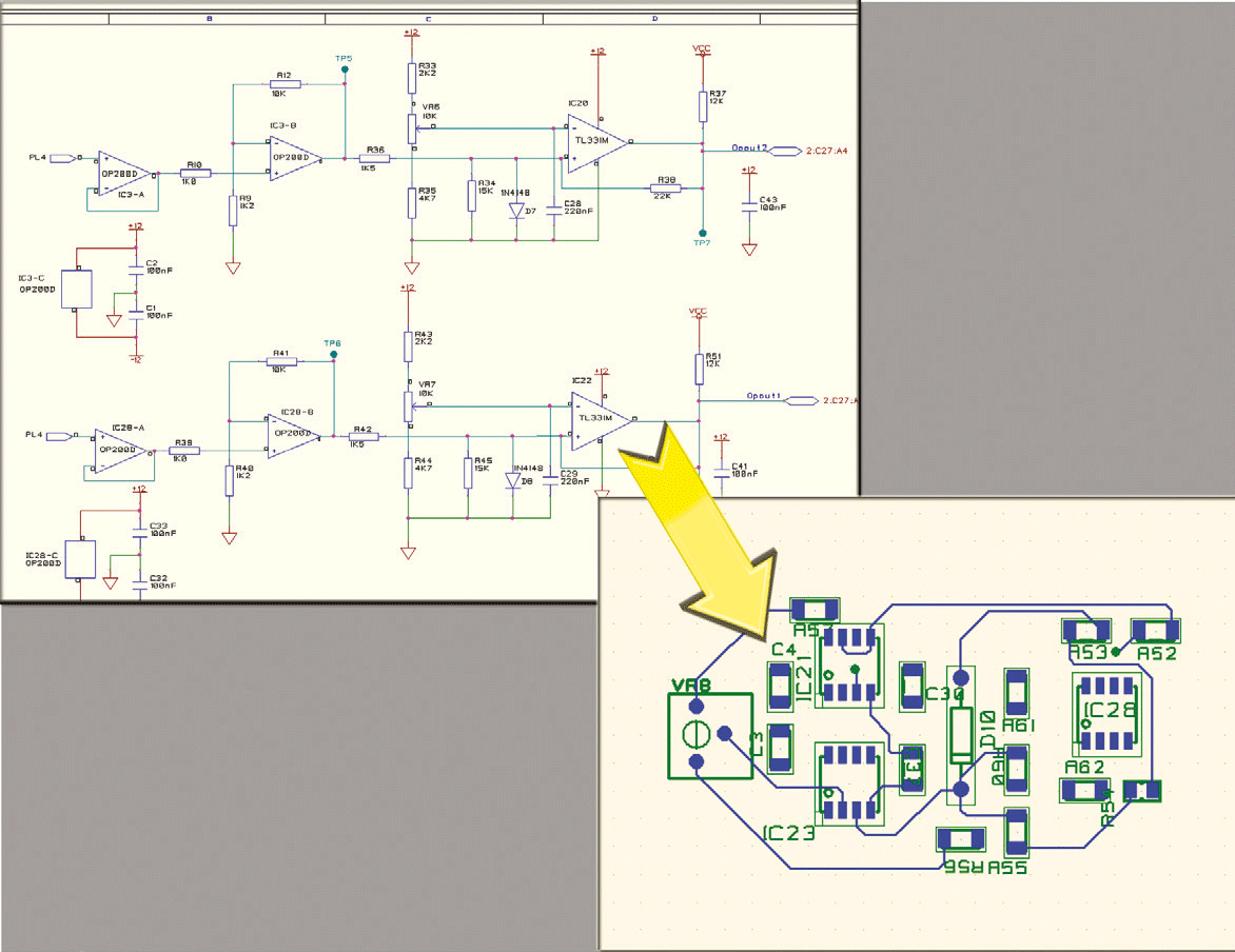 pcb design software cadstar placement planner assign reuse circuits and place layout reuse blocks