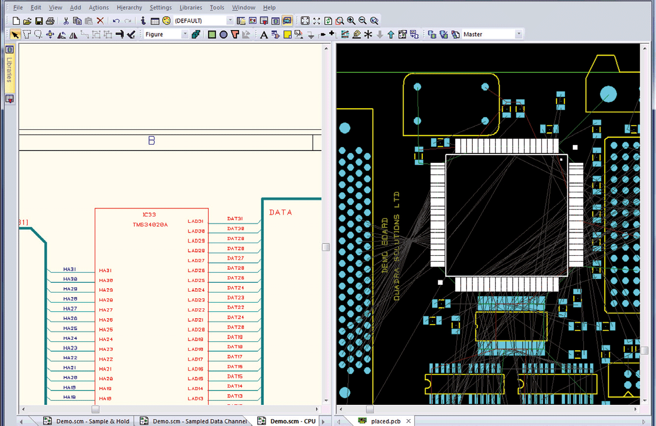 pcb design software cadstar placement planner place critical components with constraints