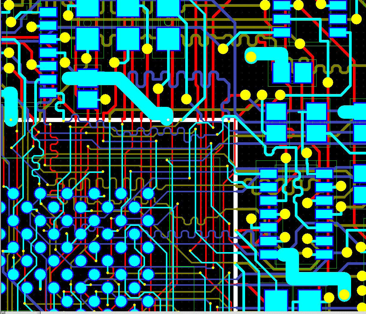 pcb design software cadstar rules by area finished analysis and verification