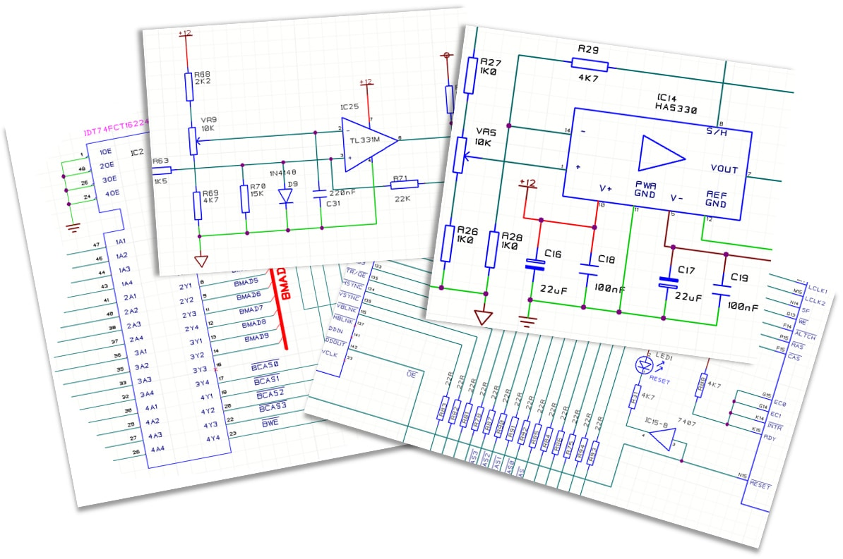 pcb design software cadstar schematics variants entry capture rules constraints product realization