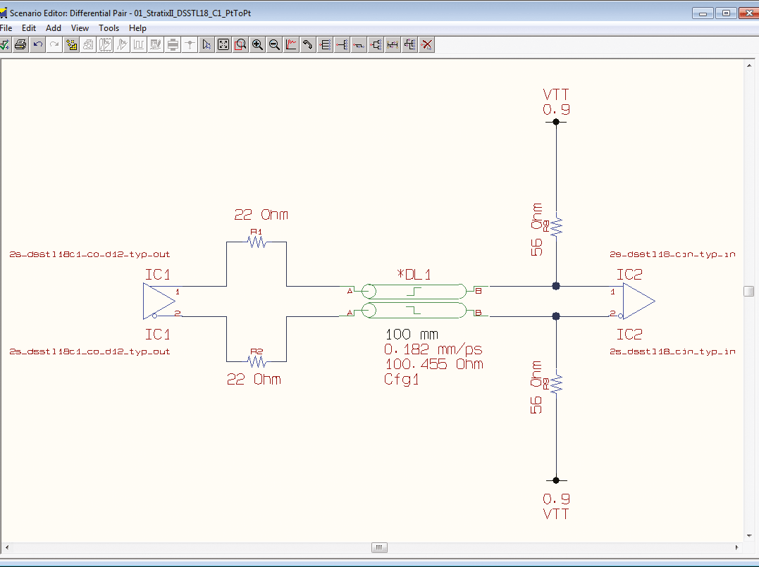 pcb design software cadstar signal integrity verify conduct what if analysis for determing strategies
