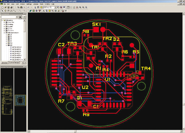 pcb design software cadstar testversion express