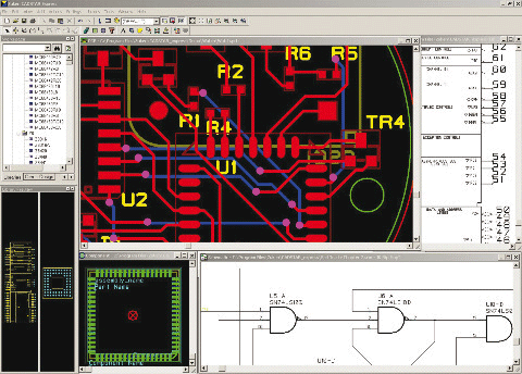 pcb design software cadstar testversion express 2