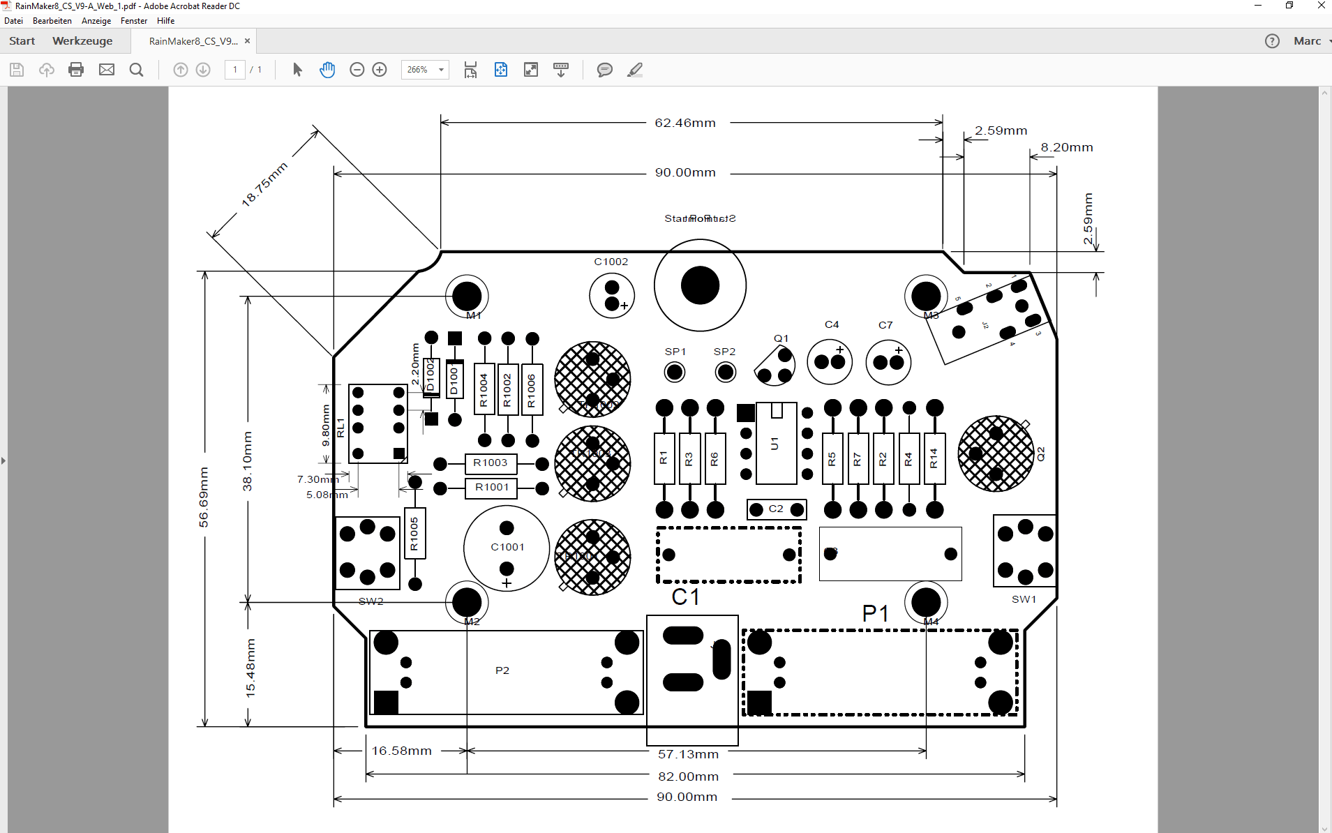 pcb design software cadstar variant manager Bestueckungs Variante A PCB mit non fitted PDF
