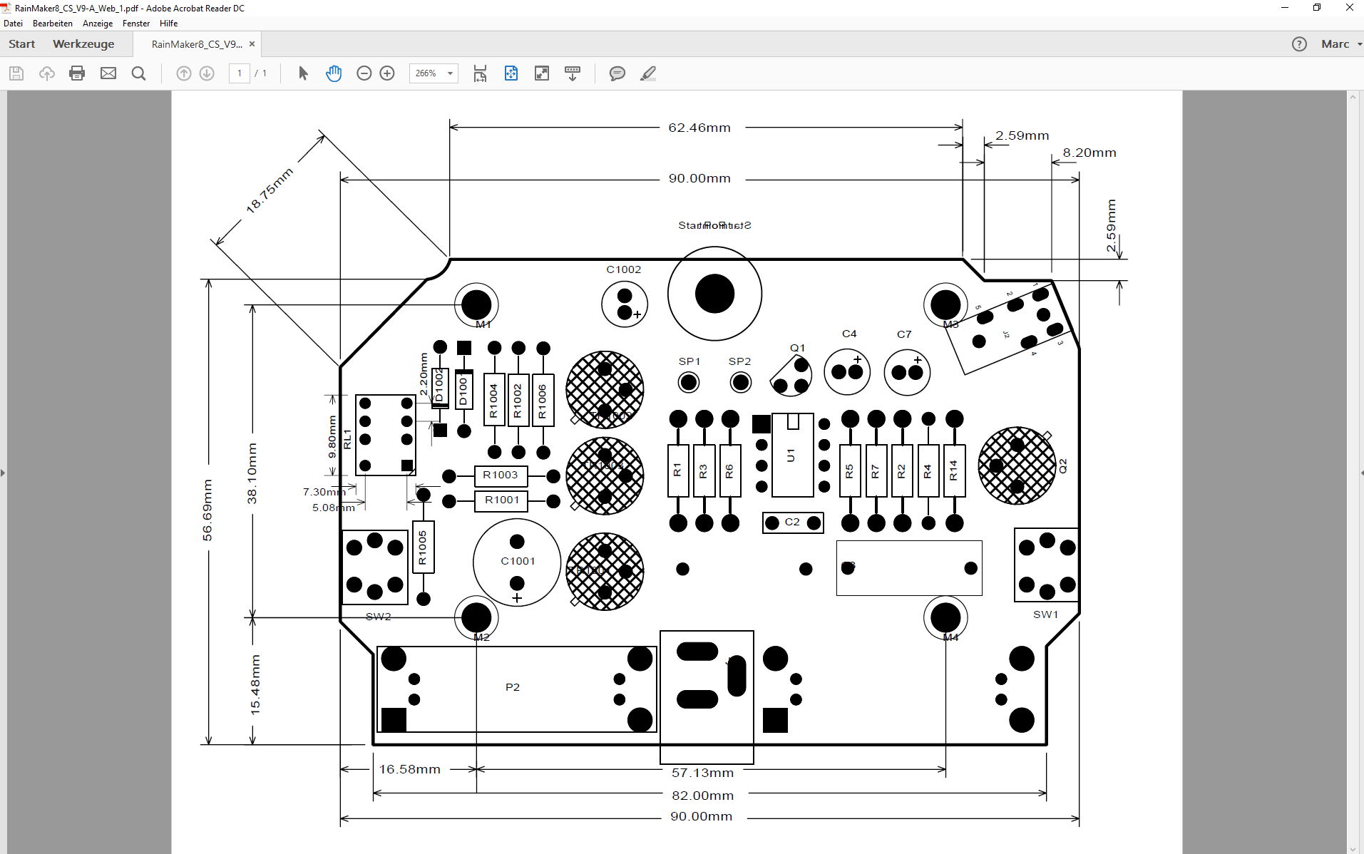 pcb design software cadstar variant manager Bestueckungs Variante A PCB ohne bestueckte PDF