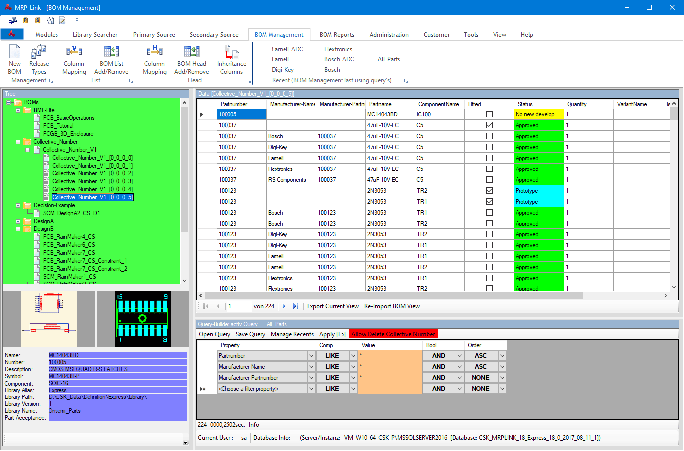 plm  erp  mrp  link  BOM  Management  BOM  View  Colored